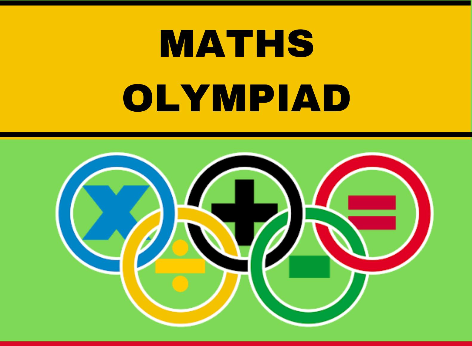 MATHS OLYMPIAD POSTER