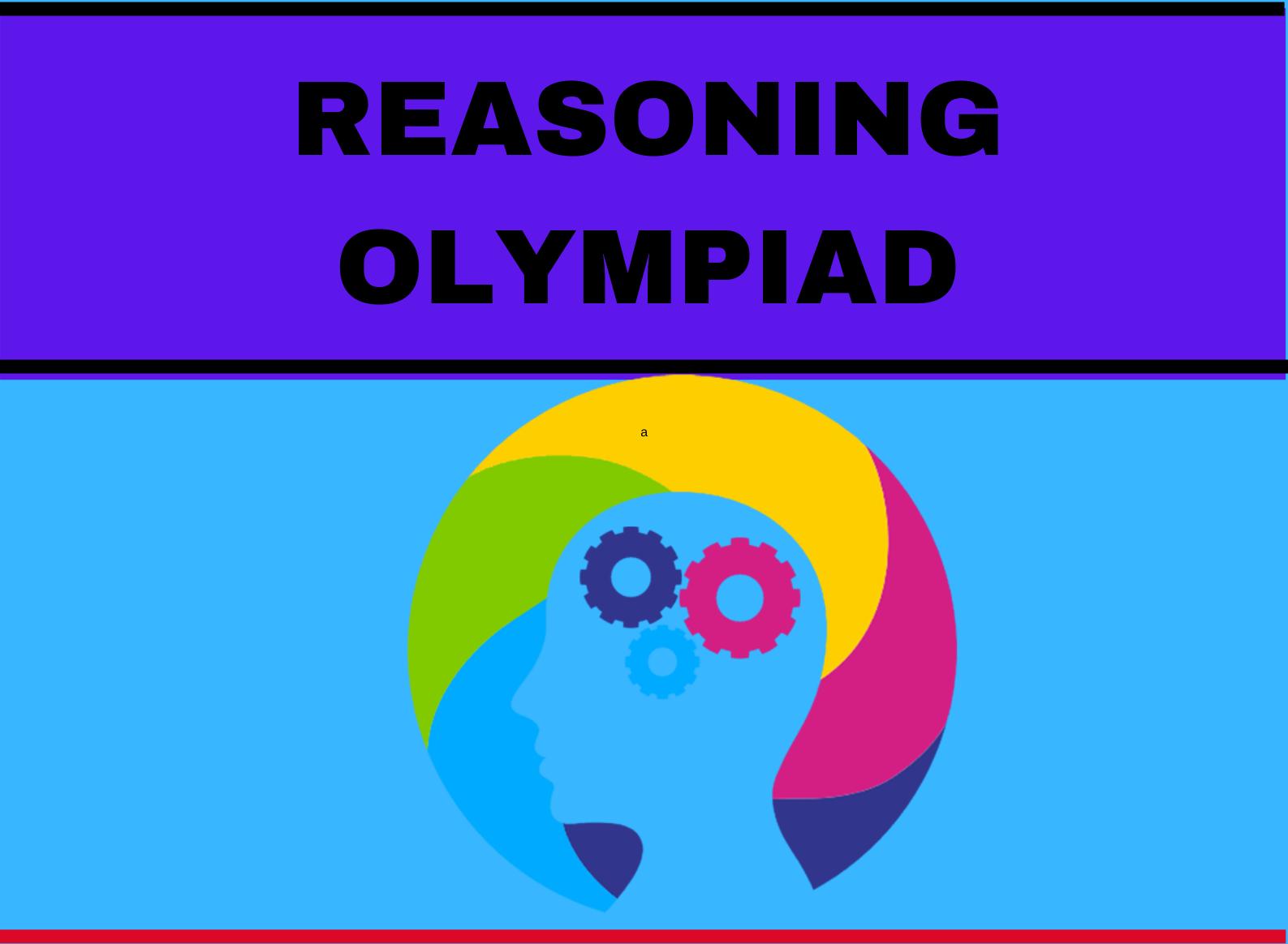 REASONING OLYMPIAD POSTER